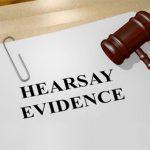 วิธีพิจารณาคดีอาญาของไทย: พยานบอกเล่า